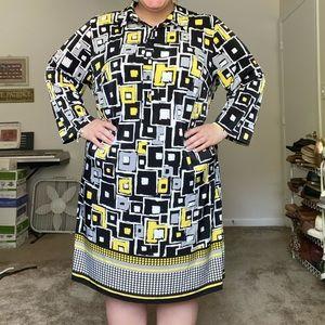 Plus size 3X Workwear dress